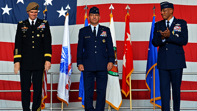 New commander takes charge of USAFCENT