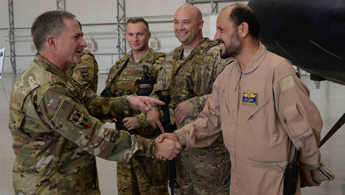 CSAF talks Air Coalition Ops during CENTCOM region visit