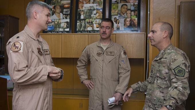 CFACC visits Incirlik Airmen
