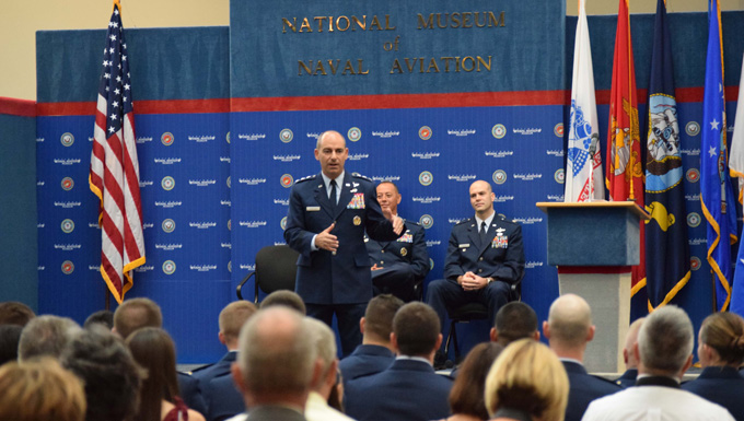 AFCENT commander addresses graduates