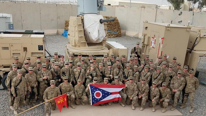Co-workers worldwide, neighbors stateside: Ohio Air and Army National Guardsmen team up in Afghanistan