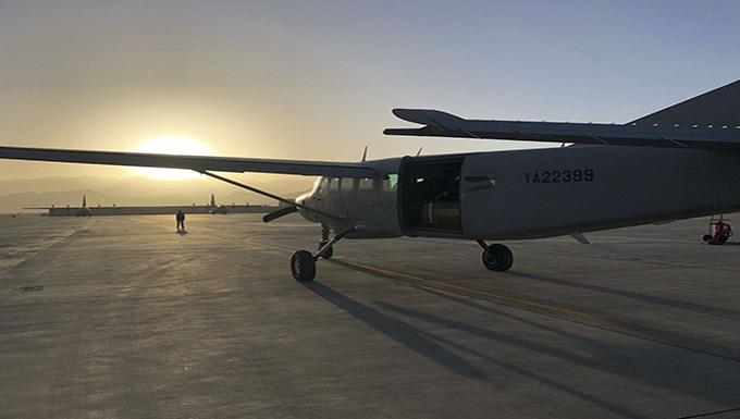 Afghan AF First Emergency Combat AirDrop