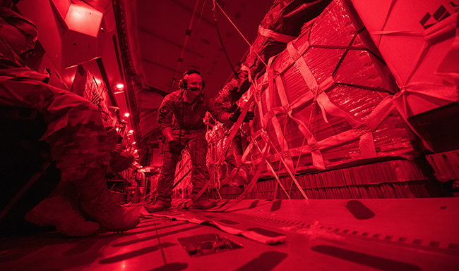 Back in the fight: C-17 resumes airdrops in AOR