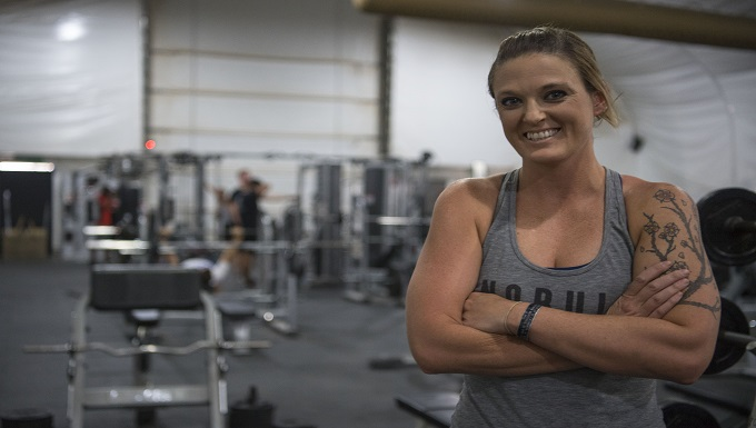 Paralegal builds strength in and out of the gym
