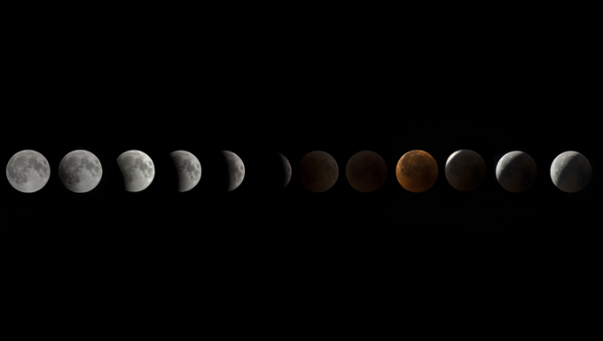 Longest Blood Moon eclipse soars over Bagram