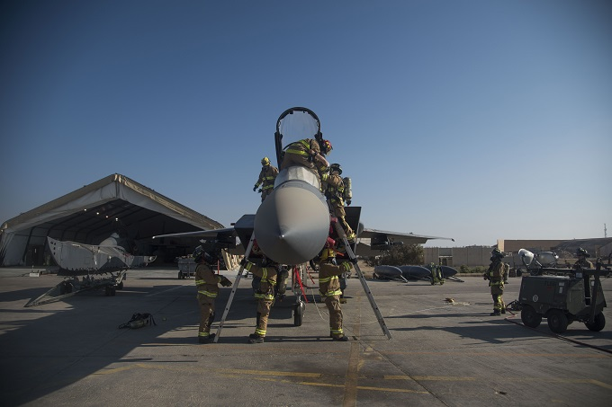 332nd ECES completes firefighter exercise
