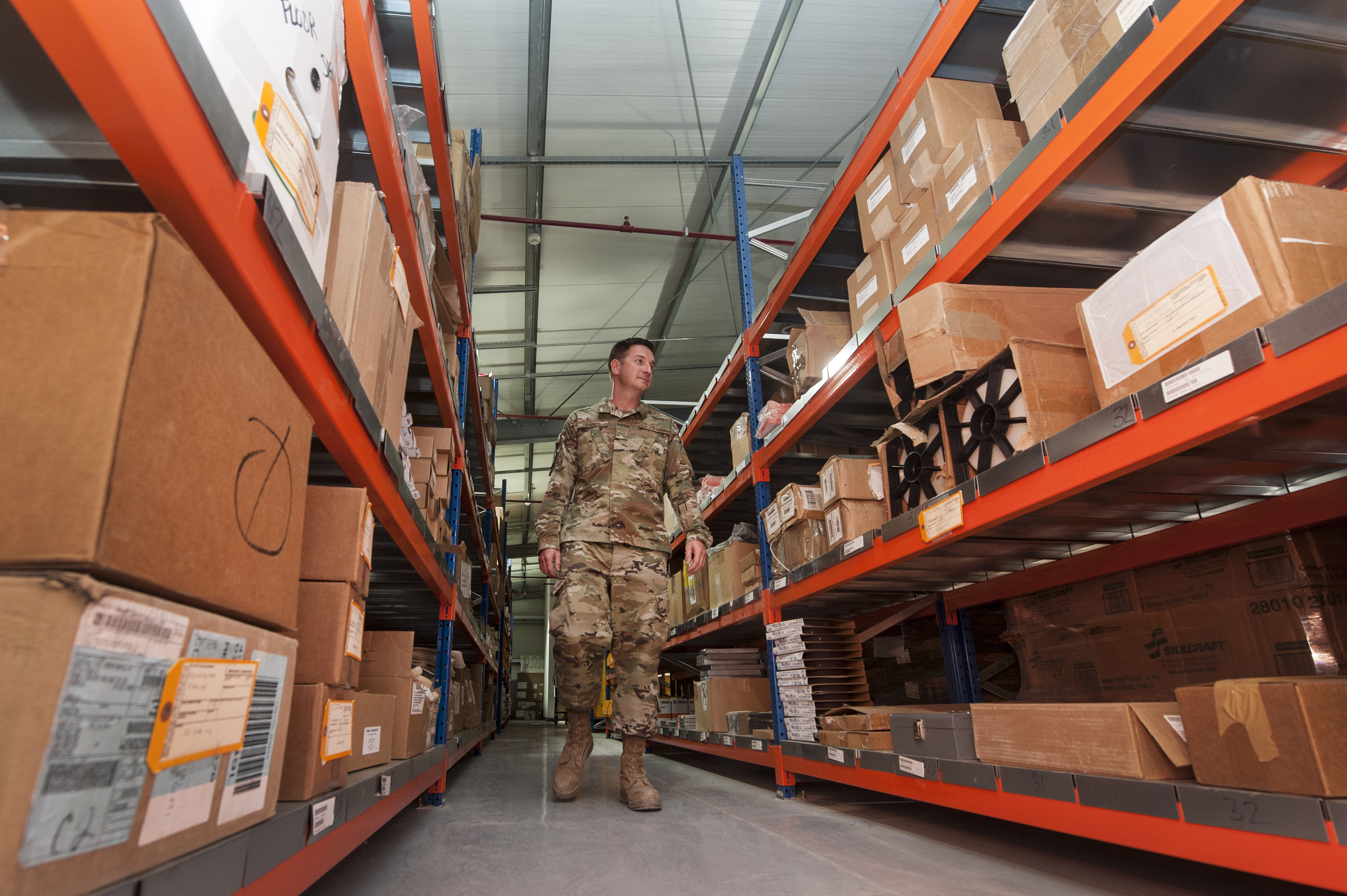 ELRS Airmen open new Desert Depot