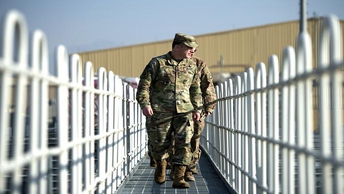 TRANSCOM commander visits Bagram Airmen