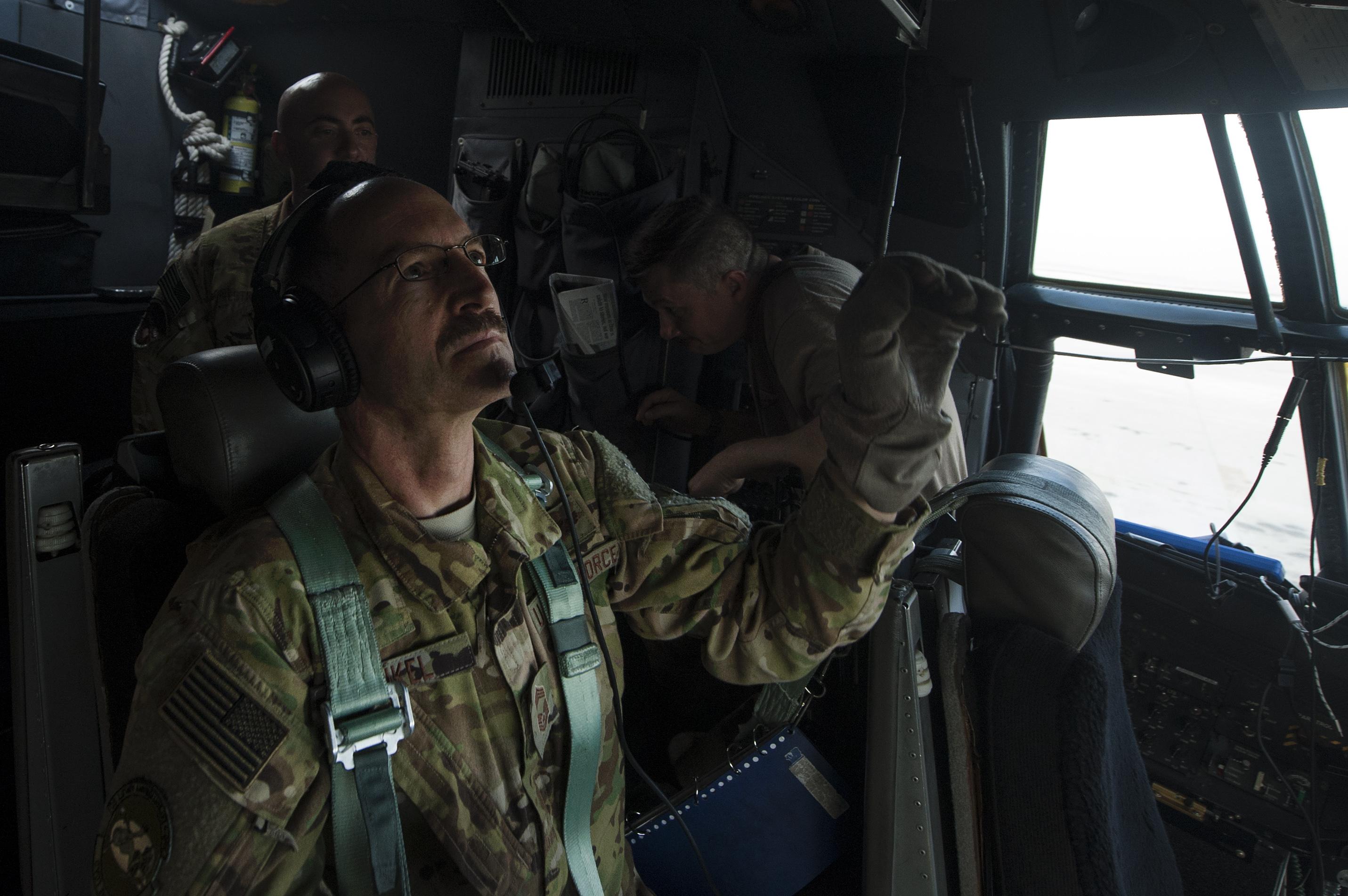 Flight Engineer passes rare milestone
