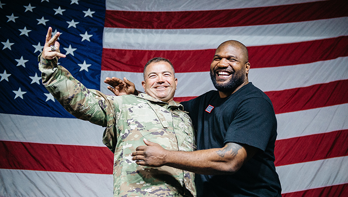 USO Summer Tour Visits Red Tails
