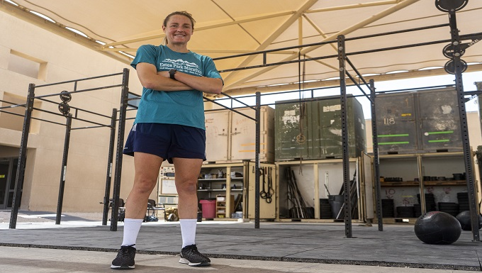 Airman, Athlete leads on and off the field