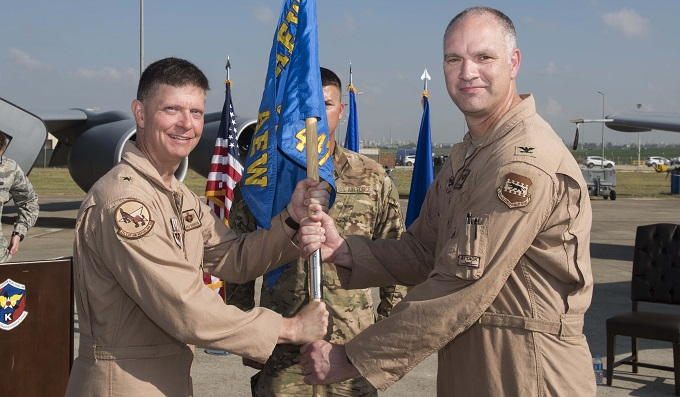 447th AEG welcomes new commander