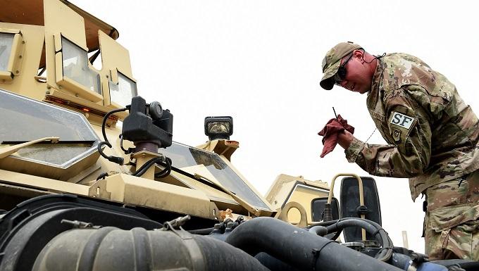 407th ESFS sustains M-ATV capabilities
