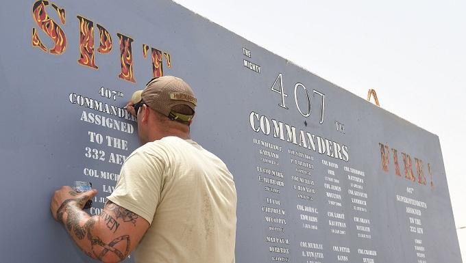 New concrete canvas chronicles 407th AEG's history