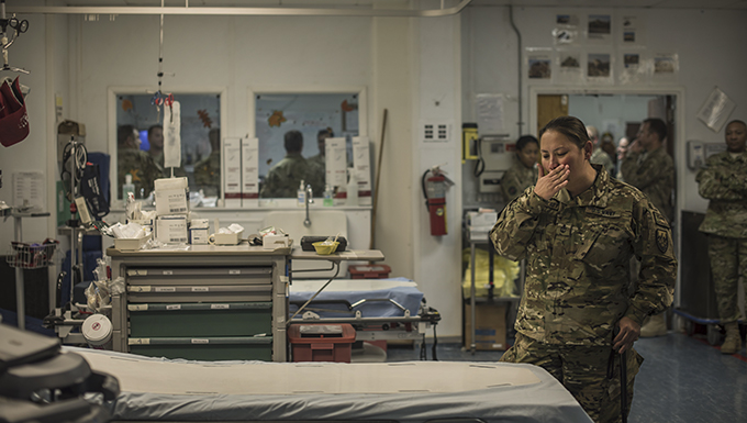 Wounded warriors return to Craig Joint Theater Hospital