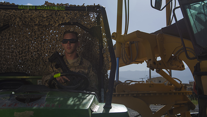 Airman 1st Class Gregory Myers: Force Protection with a smile