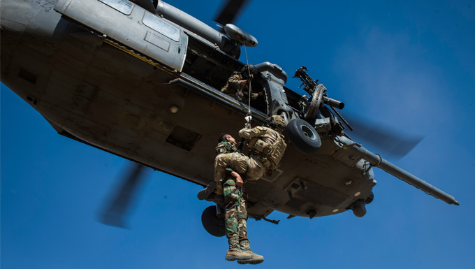 U.S. and Afghan air force partner in first of it's kind exercise