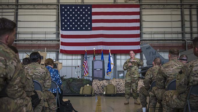 Air Force Chief of Staff visits Airmen: Talks priorities