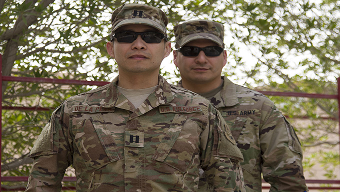 Brothers share multiple deployments