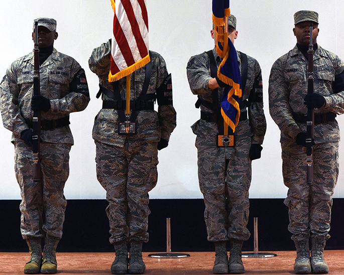 Honor guardsmen uphold tradition, deliver precision