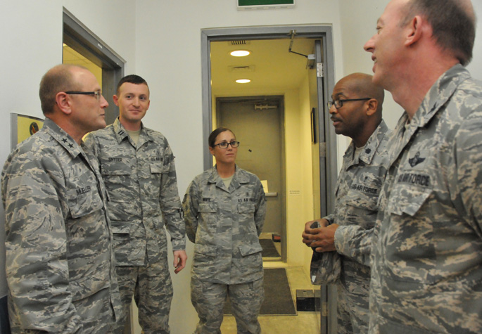 AF Chief of Safety Visits AUAB