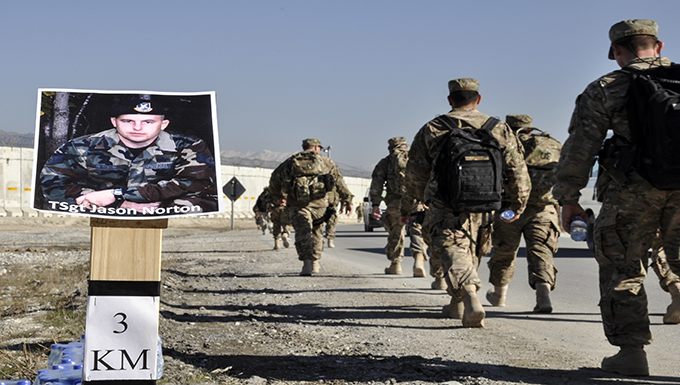 'Ruck to Remember' honors 12 fallen SFS Airmen