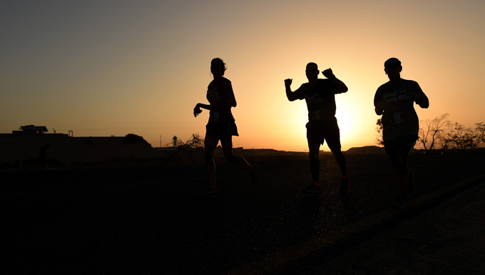 Coalition forces lace up for Marine Corps Marathon