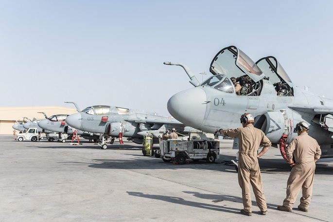 EA-6B Prowler's final chapter being written at Al Udeid
