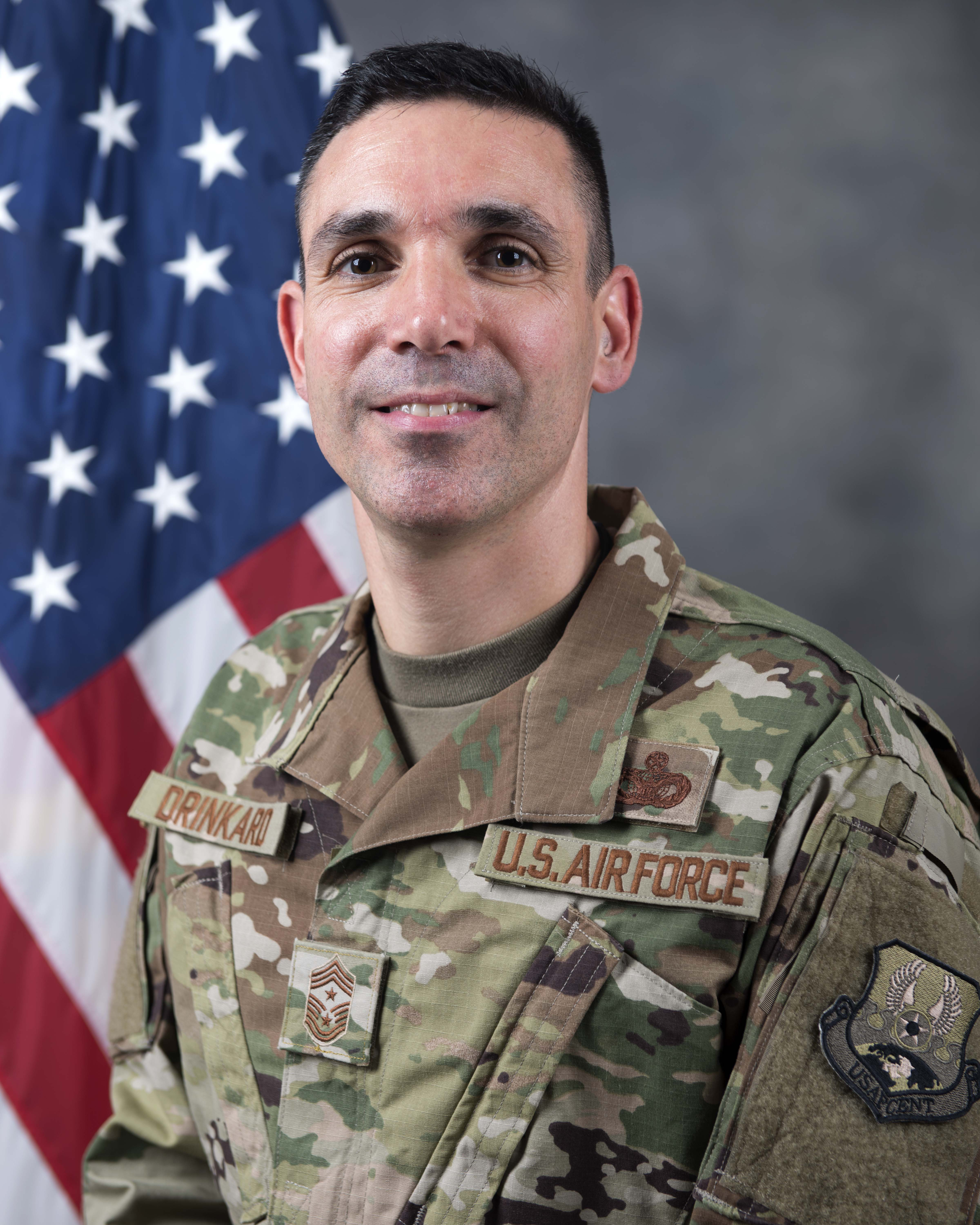 Chief Master Sgt. Shawn L. Drinkard